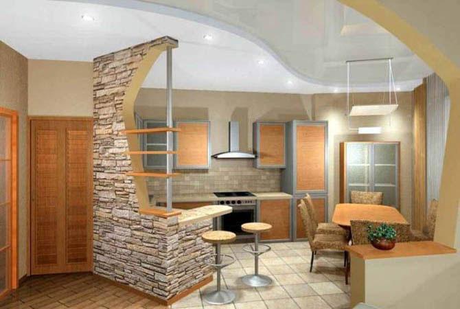 Интерьер 1 комнатной квартиры